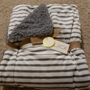 New Lila and Jack baby blanket